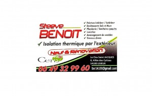 Steeve Benoit isolation thermique lisieux Calvados