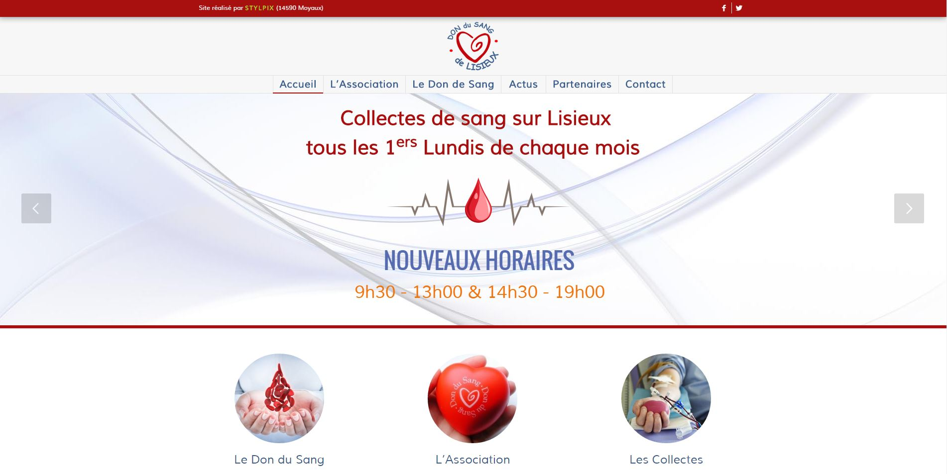 association don sang lisieux calvados
