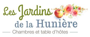 Logo Jardins Hunière chambres hôtes